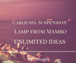 Carousel Suspension Lamp from Mambo-Unlimited Ideas
